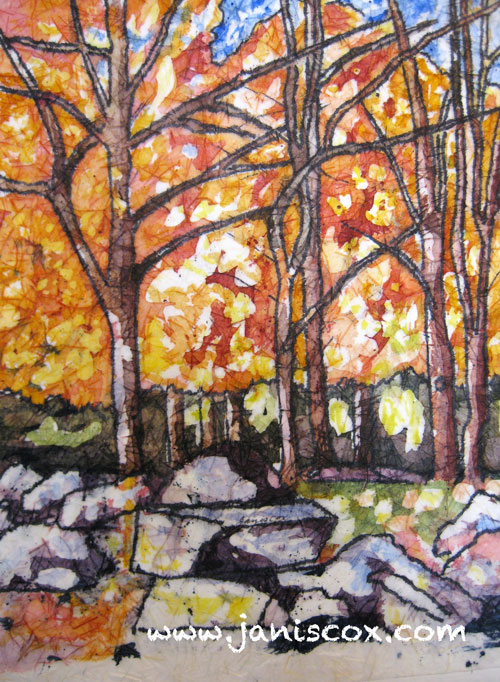 Haliburton in the Fall by Janis Cox