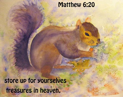 Matthew 6:20