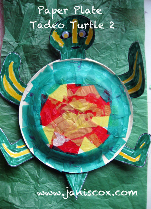 PP Paper Plate Tadeo Turtle 2