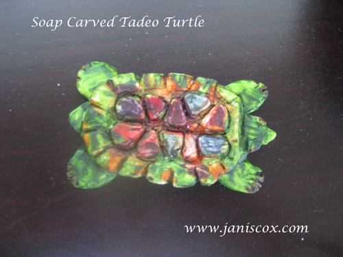 Soap Carving Tadeo Turtle