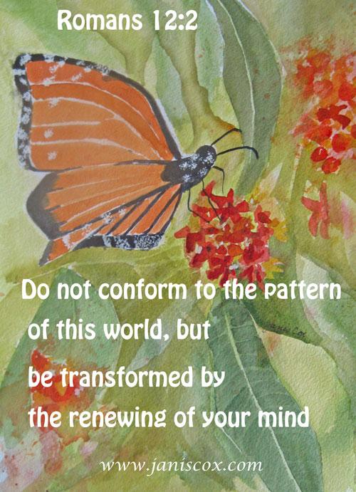 Butterfly Romans 12:2