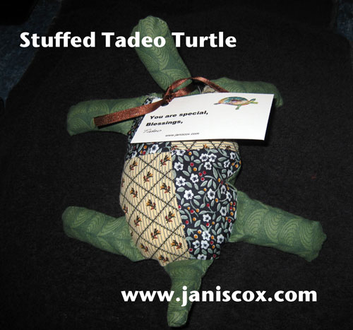 Stuffed Tadeo Turtle