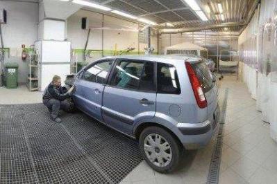 Sztuka lakierowania auta