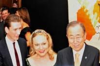 Kurz, Fererro Waldner, Ban Ki-moon