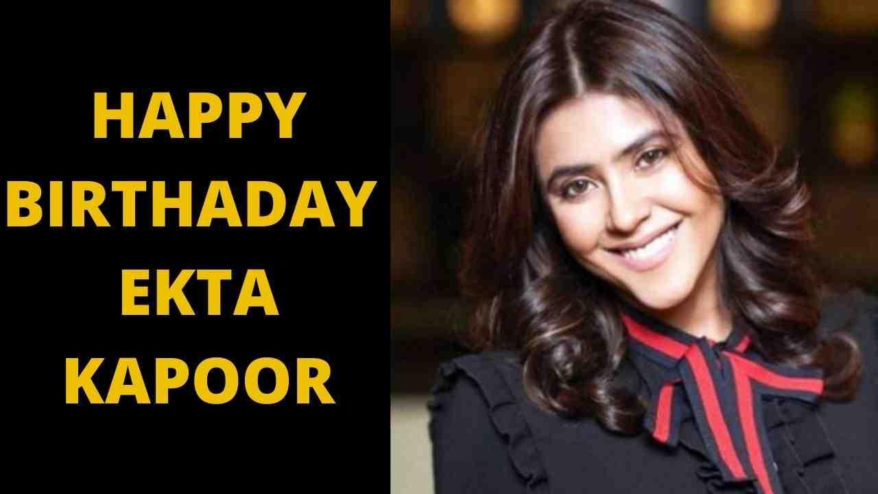 Ekta Kapoor Birthday, ekta kapoor