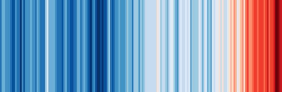 global warming stripe