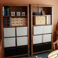 Craft Storage – before and after