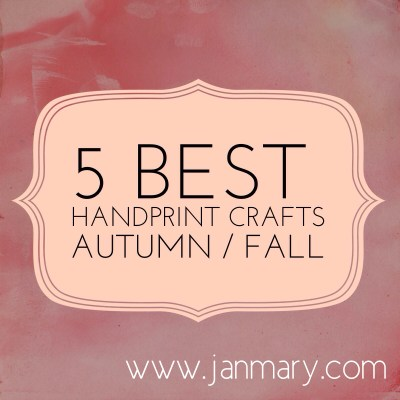 5 best kids handprint crafts for autumn / fall