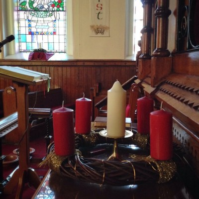 First Sunday of Advent at Seymour Street Methodist, Lisburn