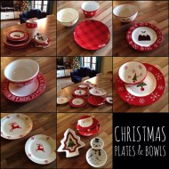 Not just Christmas plates – lots of Christmas bowls too!