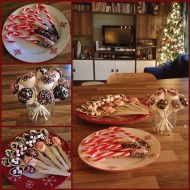 Hot chocolate spoons & stirrers – made with chocolate, candy canes, marshmallows and even more chocolate