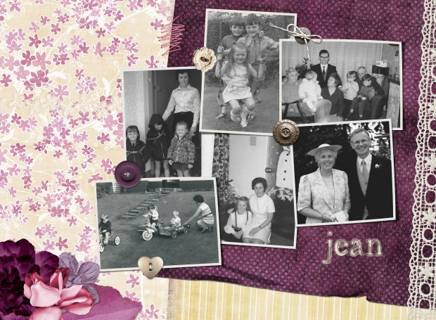 digital scrapbooking gift for mum - more on Janmary.com