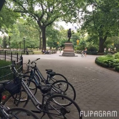 Guided bike tour of Central Park – great start to our stay in New York