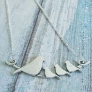 bird family pendants back in stock at janmarydesigns.com