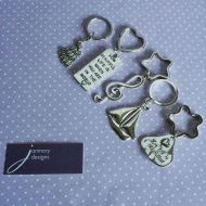 Some new Janmary Designs keyrings