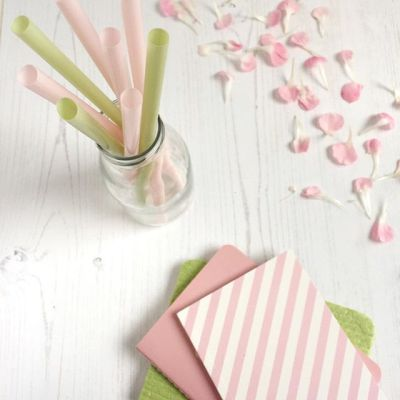 Pink and green – perfect combination