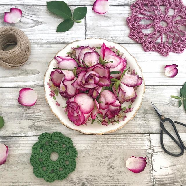 Vintage china and roses