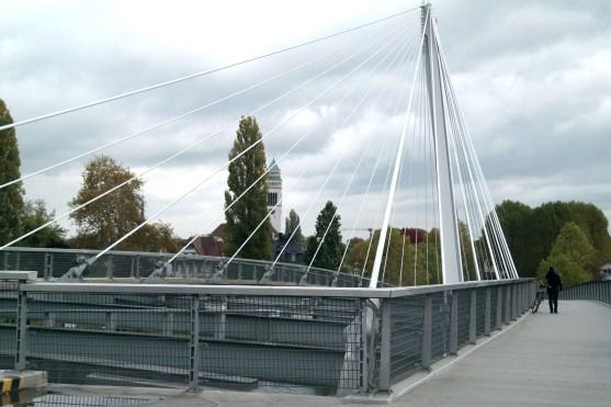 Straatsburg jardin des deux rives