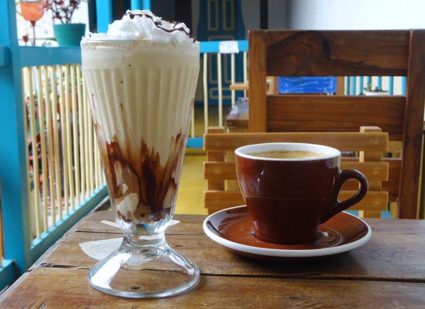Essen und trinken in Salento Colombia