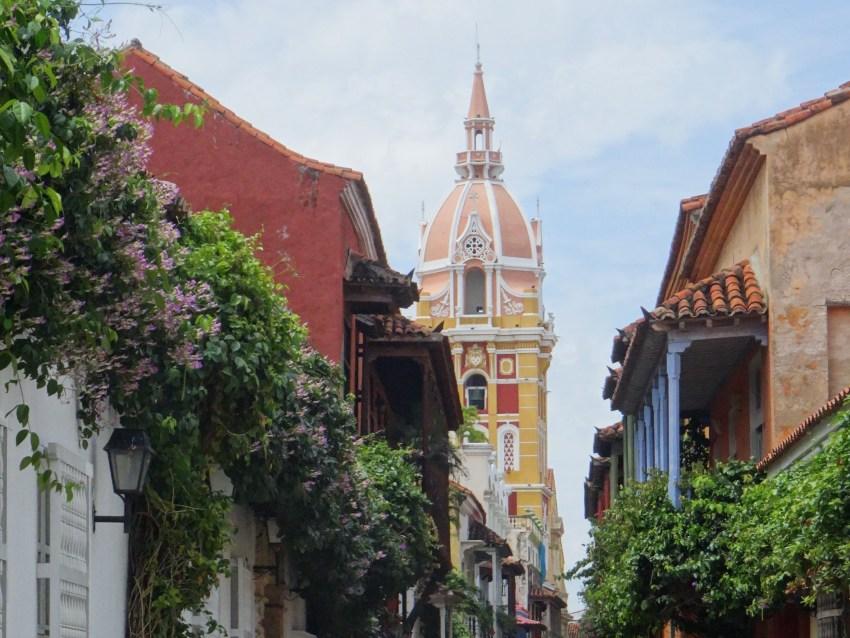 Reiseroute Kolumbien Cartagena
