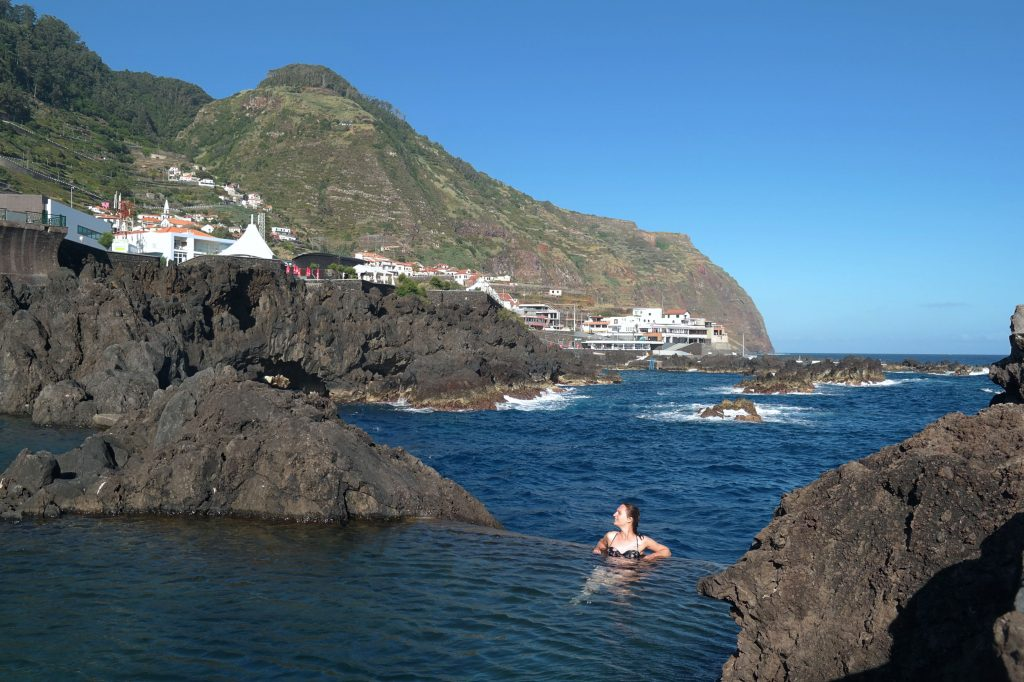 Porto Moniz natural pool