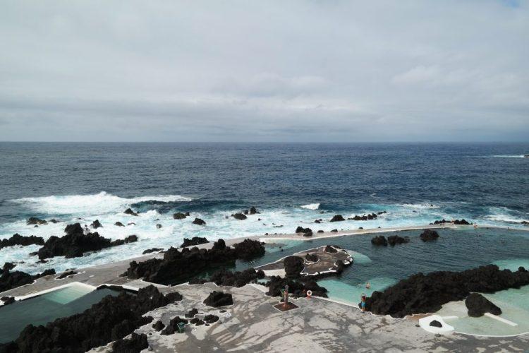 Porto Moniz zwemmen