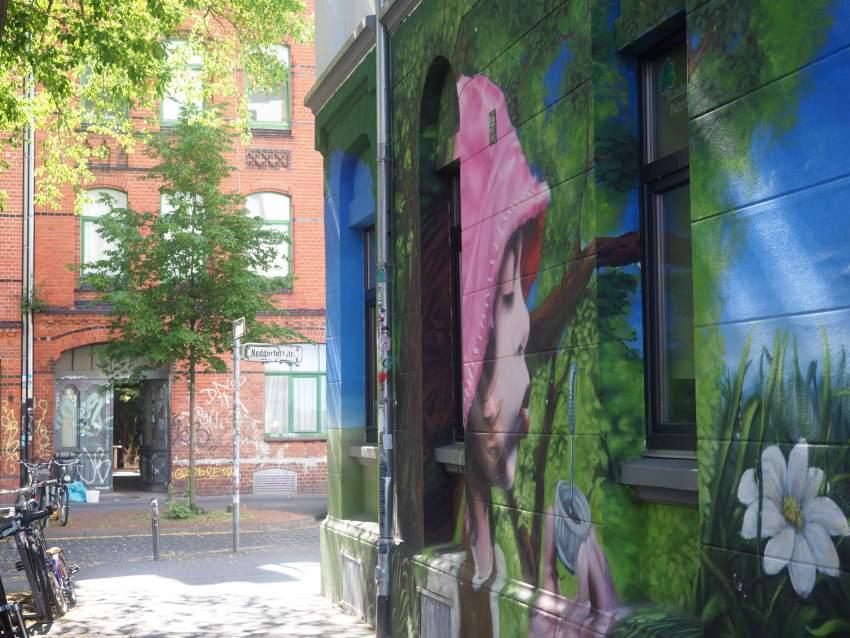 Street art Hannover Linden