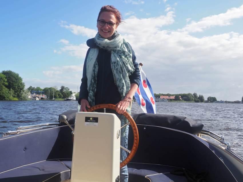 Sloep huren Friesland Alde Faenen