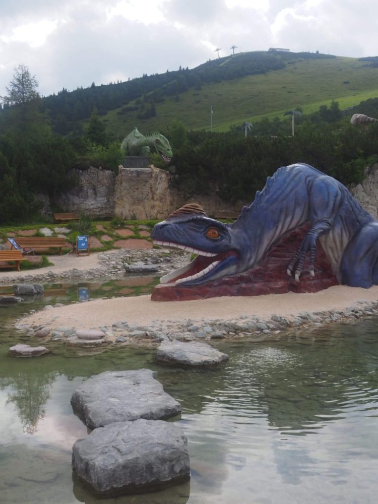 Triassic Park Steinplatte