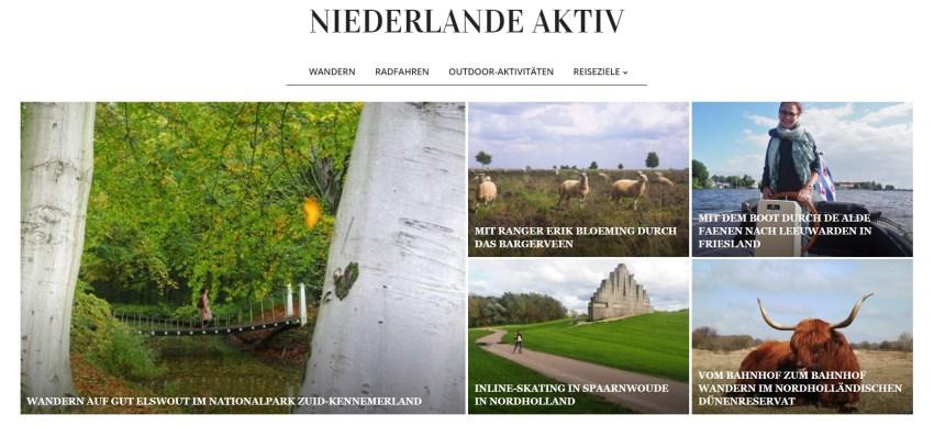 Niederlande Aktiv tips voor actieve vakanties in Nederland