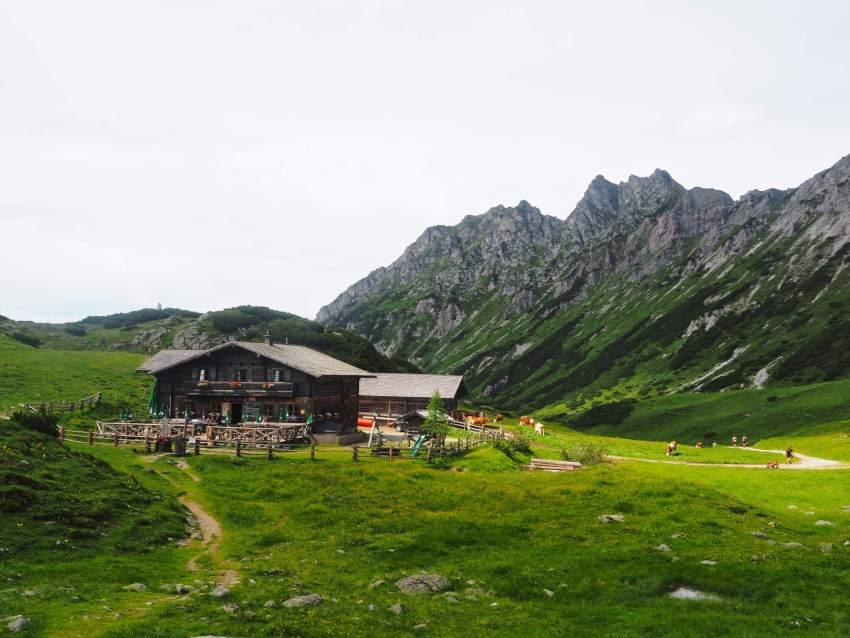 Oberhütte huttentocht Oostenrijk