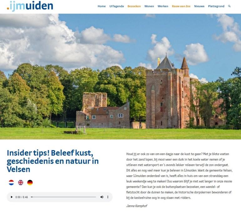 .IJmuiden Janna Kamphof blogger