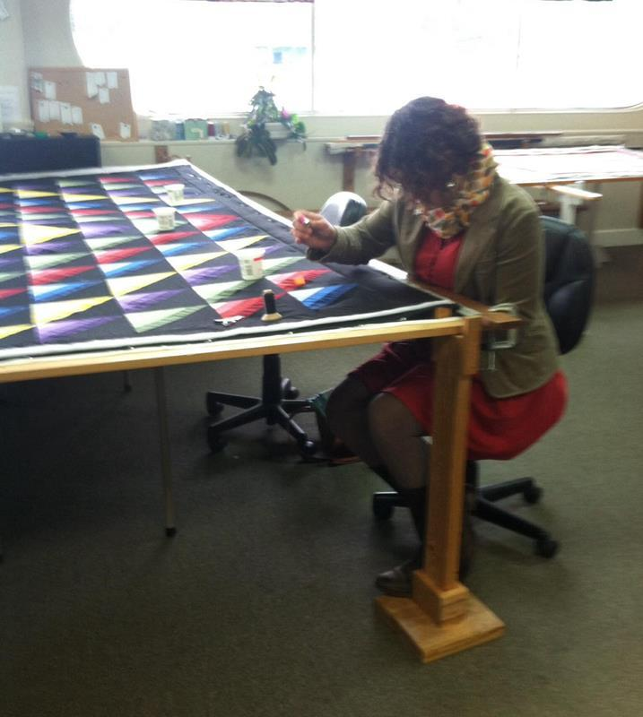 Quilting with Snowbirds