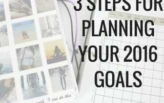 Set yourself up for success by planning not only what your goals are, but how you will achieve them. Free downloadable template!
