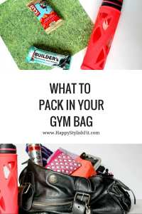 Find out what essentials you should be packing in your gym bag to make sure you have an awesome workout every time.