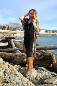 Boho outfit inspiration featuring local designers from the west coast, Nomad by Elroy, and the Shanti Collective.