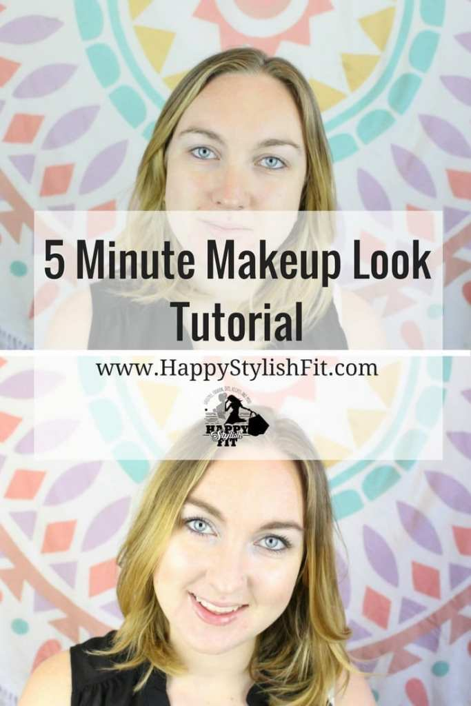 We'e all been there. Slept in and in a total rush, but you don't want to look like crap just because you slept in. Watch this tutorial for a quick 5 minute makeup look to get some tips to rock your morning beauty routine in just 5 minutes.