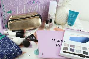 Is the Fab Fit Fun Subscription Box right for you? Take a peak inside the Spring 2017 box to see all of the great items you could get delivered to your door seasonally. Brands featured include: Gypsy 05, Briogeo, Dr. Brandt, Milly, Karuna, Real Her, Emerald Duv, Deborah Lippmann, Luv AJ, My Tagalongs, Richer Poorer, and Cargo Cosmetics.