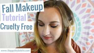 Step by step fall makeup tutorial. Follow along with the video for this beautiful earthy, trendy, autumn makeup look.