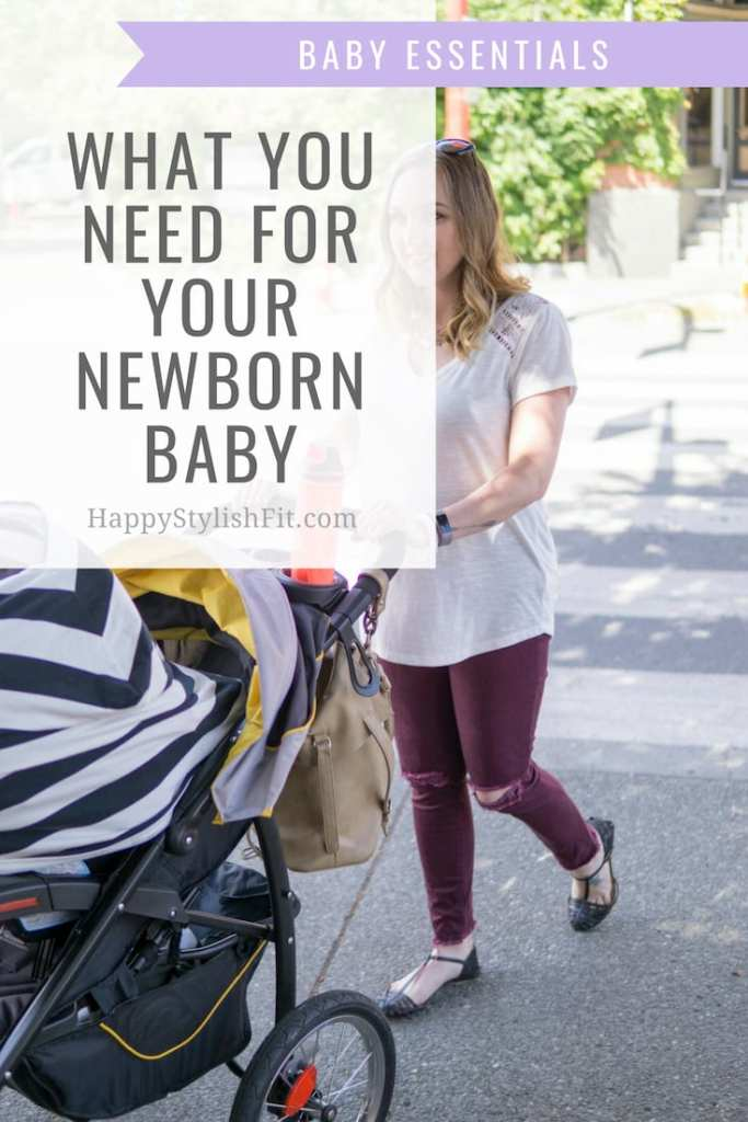 The baby essentials you need for your newborn baby. #firsttimemom #newborn #babyessentials