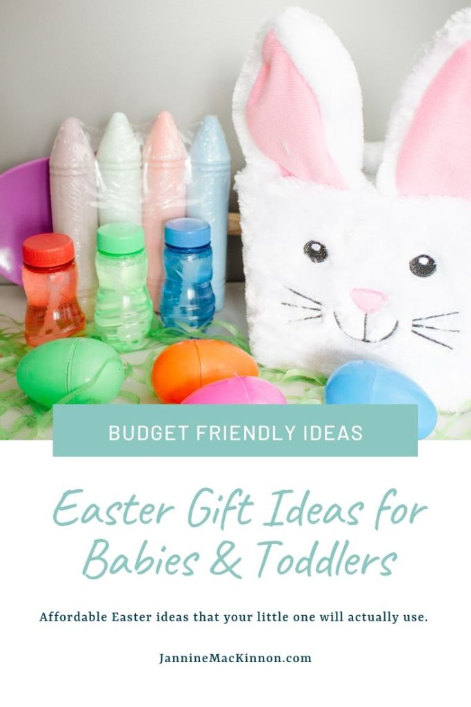 Baby and toddler easter gift ideas. These Easter basket fillers are affordable and easy to find, and will actually be used by your kids for a fun Easter.