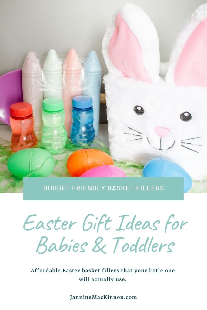 Baby and Toddler Easter gift ideas that are affordable and will actually be used by your little one.
