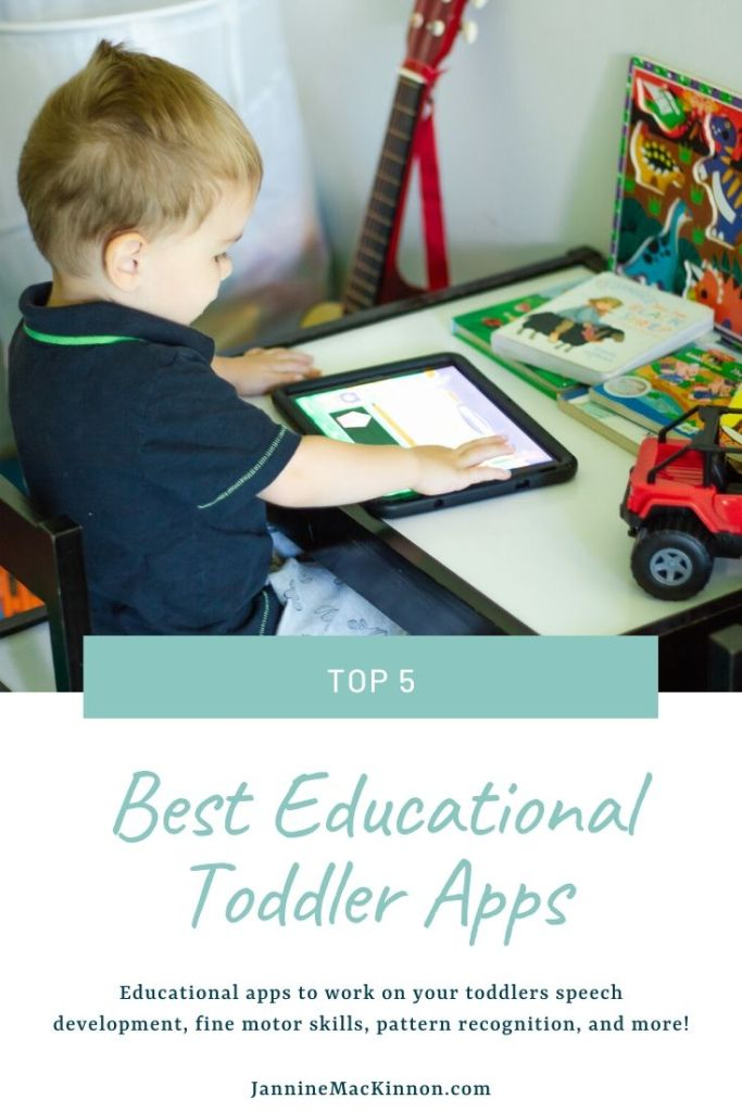 Top 5 best apps for 2 year olds. These educational apps for toddlers help with their speech development, fine motor skills, pattern recognition, and more.