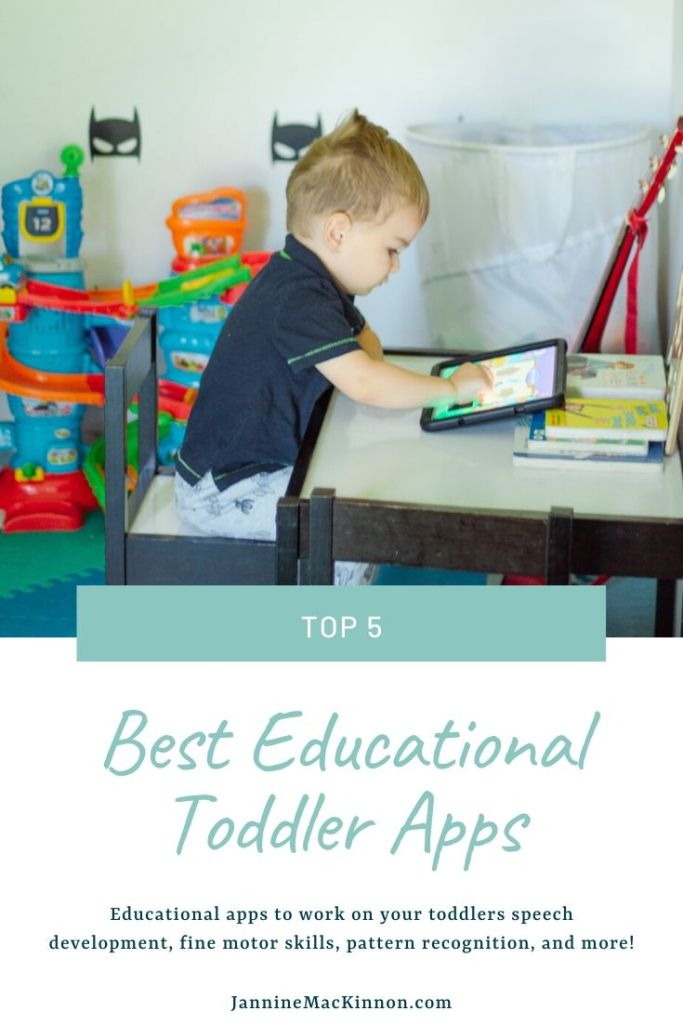 Top 5 best educational apps for toddlers that work on speech development, fine motor skills, pattern recognition, and more. Many of these are free toddler apps, and some have a paid component.