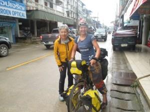 Waiting out the rain in Chiang Khong