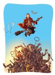 Illu pour une Membre d'une Equipe de Muggle Quidditch