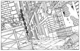 Décor pour la Série Animée Fantastic Four