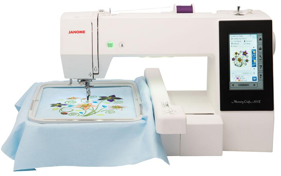 Janome 500e Embroidery Machine Reviews