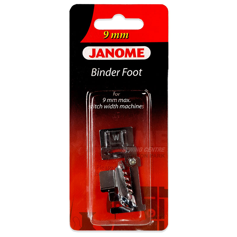 Janome 9mm Binder Foot