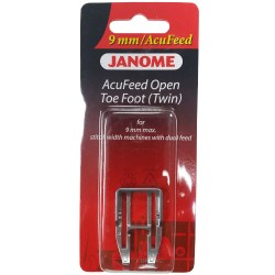 Janome AcuFeed Open Toe Foot (UD Foot)